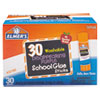 <strong>Elmer's®</strong><br />Washable School Glue Sticks, 0.24 oz, Applies Purple, Dries Clear, 30/Box