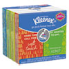 NON-RETURNABLE. ON THE GO PACKS FACIAL TISSUES, 3-PLY, WHITE, 10 SHEETS/POUCH, 8 POUCHES/PACK
