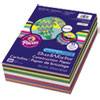 Construction Paper Smart-Stack, 58lb, 9 x 12, Assorted, 300/Pack