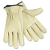<strong>MCR&#8482; Safety</strong><br />Full Leather Cow Grain Gloves, X-Large, 1 Pair