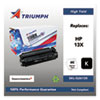 <strong>Triumph&#8482;</strong><br />751000NSH0174 Remanufactured Q2613X (13X) High-Yield Toner, 4,000 Page-Yield, Black