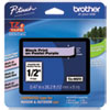 """<strong>Brother P-Touch®</strong><br />TZ Standard Adhesive Laminated Labeling Tape, 0.47"""" x 26.2 ft, Pastel Purple"""