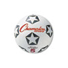Rubber Sports Ball, For Soccer, No. 4, White/Black