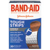 "BAND-AID® Flexible Fabric Adhesive Tough Strip Bandages, 1"" x 3 1/4"", 20/Box - 4408"