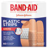 BAND-AID® Plastic Adhesive Bandages, 3/4 x 3, 60/Box - 100563500