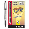 Precise Grip Stick Roller Ball Pen, Bold 1mm, Black Ink, Black Barrel