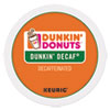 <strong>Dunkin Donuts®</strong><br />K-Cup Pods, Dunkin' Decaf, 24/Box