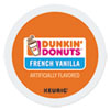 <strong>Dunkin Donuts®</strong><br />K-Cup Pods, French Vanilla, 24/Box