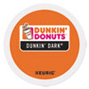 <strong>Dunkin Donuts®</strong><br />K-Cup Pods, Dunkin' Dark Roast, 24/Box
