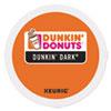K-Cup Pods, Dunkin' Dark Roast, 24/Box