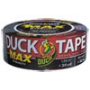 "Duck® MAX Duct Tape, 1.88"" x 35 yds, 3"" Core, Black - 240867"