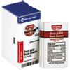 Refill For Smartcompliance Gen Business Cabinet, Burn Cream, 0.9g Packets,20/bx