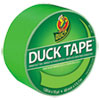 "Colored Duct Tape, 9 mil, 1.88"" x 15 yds, 3"" Core, Neon Green"