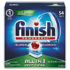 FINISH® Powerball Dishwasher Tabs, Fresh Scent, 54 Tabs/Box, 4 Boxes/Carton - REC 81158