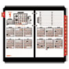 Burkhart's Day Counter Desk Calendar Refill, 4 1/2 x 7 3/8, White, 2018