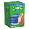 <strong>Curad®</strong><br />Flex Fabric Bandages, Assorted Sizes, 100 per Box