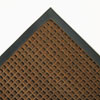 Crown Super-Soaker Wiper Mat w/Gripper Bottom, Polypropylene, 34 x 58, Dark Brown CWNSSR035DB