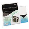 deflect-o® Superior Image Sign Holder With Pocket,  13 1/2w x 4 1/4d X 10 7/8h, Clear DEF599401