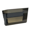 Letter-Size Magnetic Wall File Pocket, Letter, Smoke