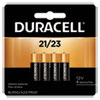 <strong>Duracell®</strong><br />Specialty Alkaline Battery, 21/23, 12V, 4/Pack