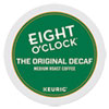 <strong>Eight O'Clock</strong><br />Original Decaf Coffee K-Cups, 24/Box