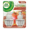 Air Wick® Scented Oil Refill, Warming - Apple Cinnamon Medley, 0.67oz, Orange, 2/Pack - 62338-80420