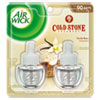 Air Wick® Scented Oil Refill, Cold Stone Creamery Vanilla Bean, 0.67oz, Clear, 2/Pack - 62338-81262