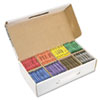 Crayons Made with Soy, 100 Each of 8 Colors, 800/Carton