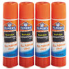 <strong>Elmer's®</strong><br />Washable School Glue Sticks, 0.24 oz, Applies and Dries Clear, 4/Pack