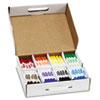 Washable Marker, Broad Bullet Tip, Assorted Colors, 200/CT