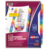 <strong>Avery®</strong><br />Customizable TOC Ready Index Multicolor Dividers, 26-Tab, Letter