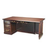 "DMi Governor's Box/File Single Pedestal Desk - 72"" x 36"" x 30"" - 2 x Box Drawer(s), File Drawer(s) - DMI7350570"