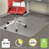 ECONOMAT OCCASIONAL USE CHAIR MAT, LOW PILE CARPET, ROLL, 36 X 48, LIPPED, CLEAR