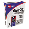 Glue Stic for Envelopes, .26 oz, Stick, 3/Pack