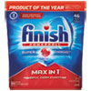FINISH® Powerball Max in 1 Dishwasher Tabs, Regular Scent, 43/Pack - 92789PK
