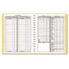 Simplified Monthly Bookkeeping Record, Tan Vinyl Cover, 128 Pages, 8 1/2 x 11
