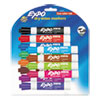 Low-Odor Dry-Erase Marker, Broad Chisel Tip, Assorted Colors, 12/Set