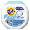 Tide® Free & Gentle Laundry Detergent, Pods, 72/Pack - 037000898924