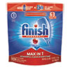 FINISH® Powerball Max in 1 Dishwasher Tabs, Fresh, 63/Pack - 93269PK