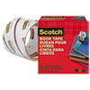 "Book Tape, 3"" Core, 3"" x 15 yds, Clear"