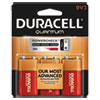<strong>Duracell®</strong><br />Quantum Alkaline 9V Batteries, 3/Pack, 36 Packs/Carton
