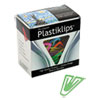 Plastiklips Paper Clips, Extra Large, Assorted Colors, 50/Box