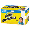 <strong>Bounty®</strong><br />Essentials Select-A-Size Kitchen Roll Paper Towels, 2-Ply, 104 Sheets/Roll, 12 Rolls/Carton