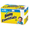 <strong>Bounty®</strong><br />Essentials Select-A-Size Kitchen Roll Paper Towels, 2-Ply, 78 Sheets/Roll, 12 Rolls/Carton