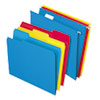 Combo Filing Kit, Letter, Assorted, 12 Sets/Box