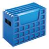 "<strong>Pendaflex®</strong><br />Desktop File With Hanging Folders, Letter Size, 6"" Long, Blue"