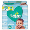 <strong>Pampers®</strong><br />Complete Clean Baby Wipes, 1 Ply, Baby Fresh, 504/Pack
