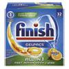 Dish Detergent Gelpacs, Orange Scent, Box Of 32 Gelpacs, 8 Boxes/carton