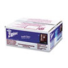 Ziploc® Double Zipper Bags, Plastic, 1gal, 1.75mil, Clear w/Write-On Panel, 250/Box DVO94602