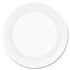 """<strong>Dart®</strong><br />Concorde Foam Plate, 6"""" dia, White, 1000/Carton"""